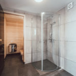 shower sauna in hrifunes nature park iceland hotel