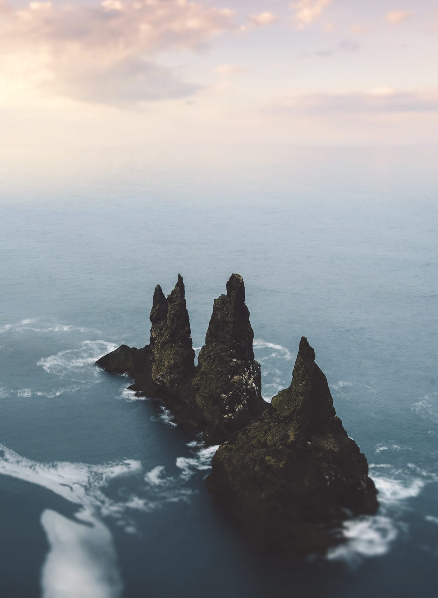 Reynisdrangar one of the many natural wonders on the way to hrifunes nature park hotel