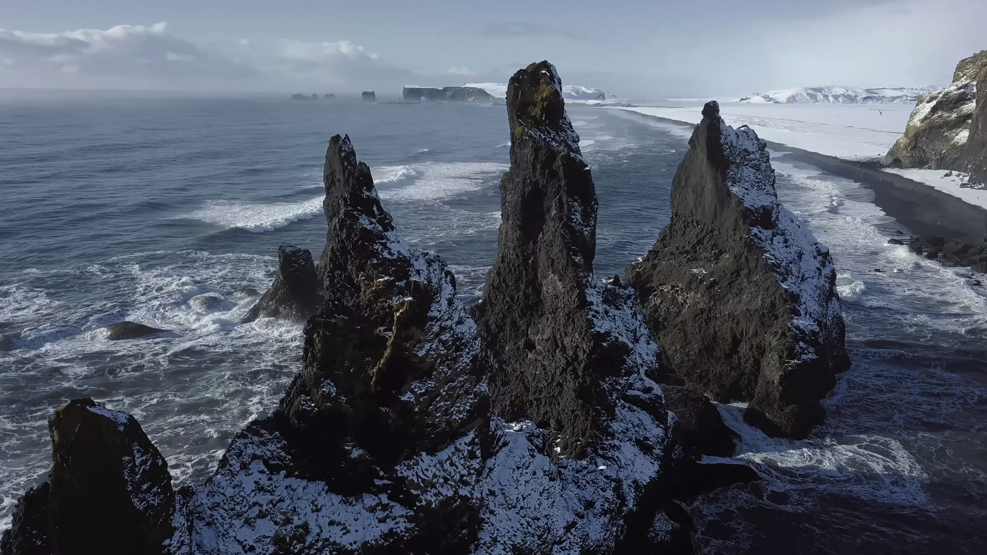 Reynisdrangar a natural wonder near vik i myrdal which is only 30 minutes away from hrifunes nature park